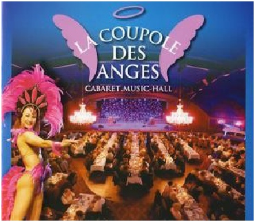 Cabaret la coupole des anges David Burlet dinner show juggling comedy juggler