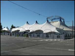 Benidorm Circus Big Top Spain